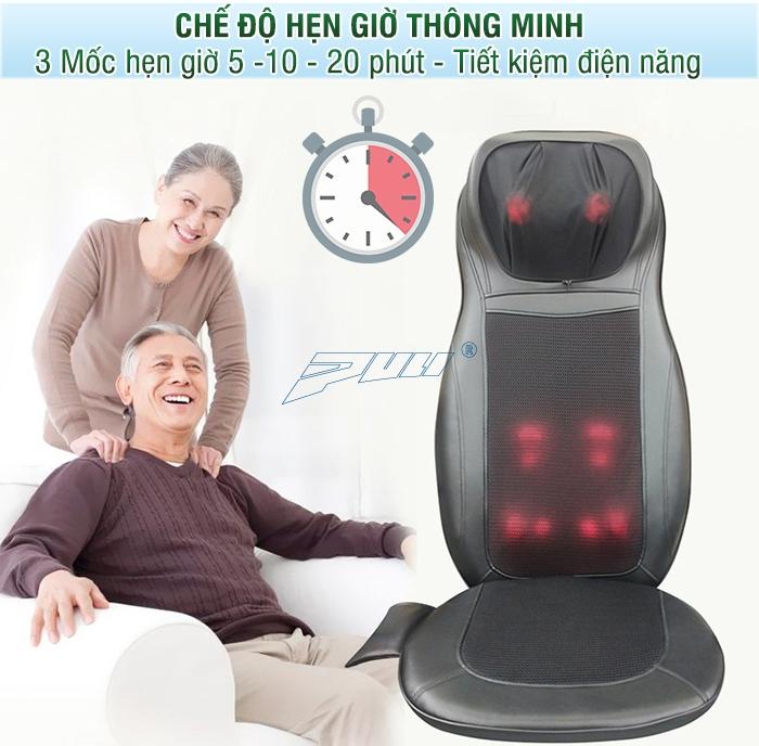 Hẹn giờ tắt tự động ghế massage Puli PL-802B