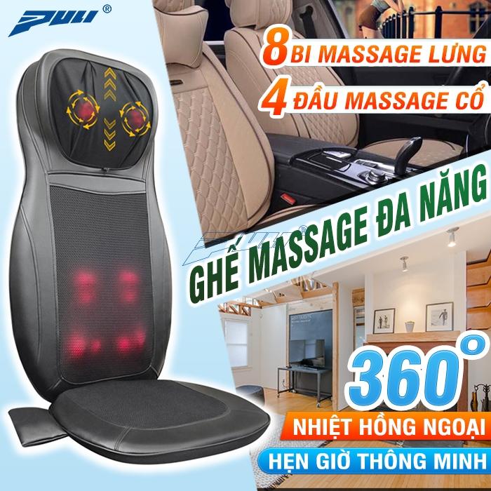 Ghế đệm massage Puli PL-802B