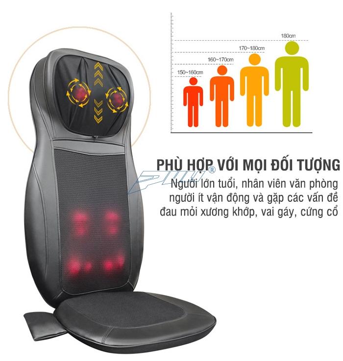 Ghế mát xa Puli PL-802B phù hợp cho mọi đối tượng