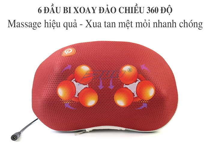 Massage xoay 360 độ Puli PL-817B