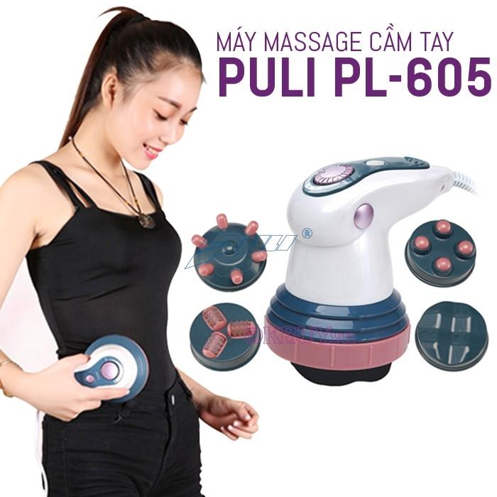 máy massage bụng cầm tay hồng ngoại Puli PL-605