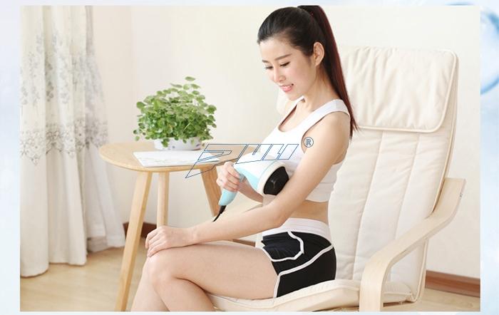 máy massage bụng giảm mỡ, giảm đau nhức Puli PL-607AC3