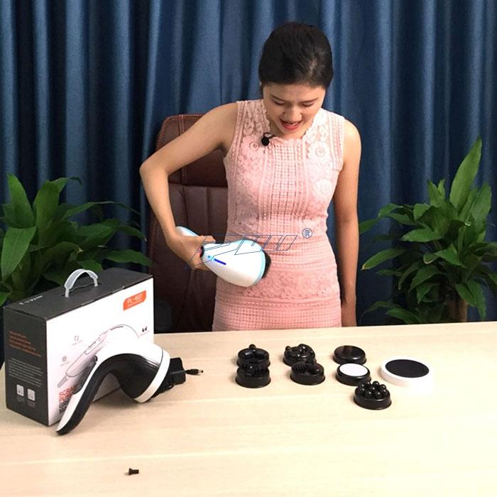 máy massage cầm tay pin sạc Puli PL-607DC3