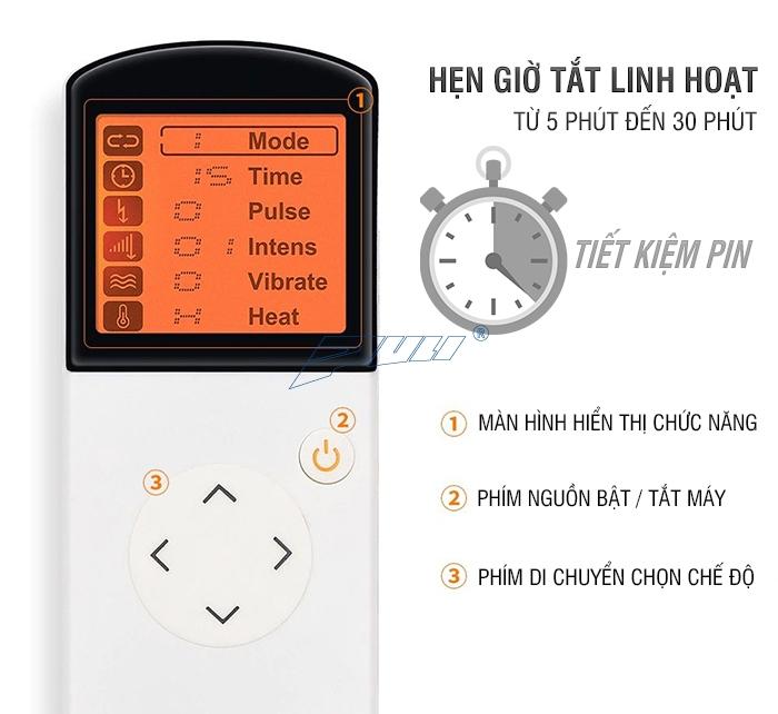 máy masage cổ xung điện Puli PL-758