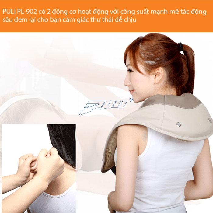 Mát xa tự động thoải mái máy massage PULI PL-902/903