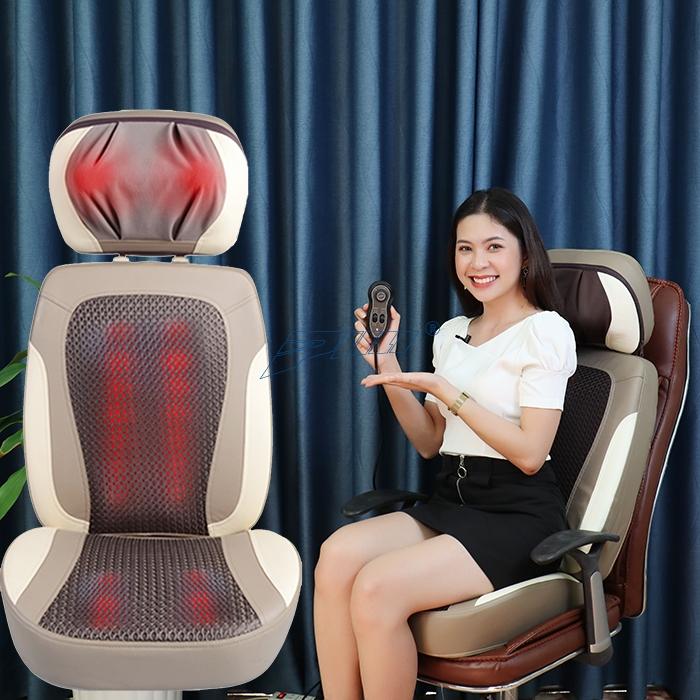 ghế massage lưng cổ vai gáy cao cấp Puli PL-887