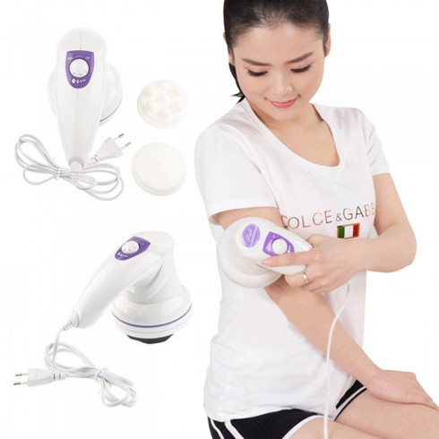 Máy massage bụng cầm tay Puli PL-602 - 3 đầu