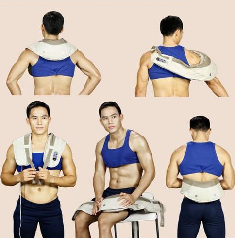 Đai massage đấm bóp cổ vai gáy cao cấp PULI PL-902/ 903