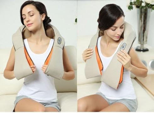 Máy massage đấm bóp điều trị đau mỏi cổ vai gáy Puli PL-901