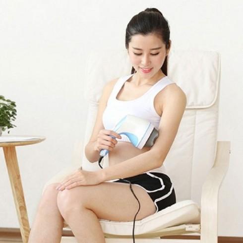Máy massage bụng cầm tay Puli PL-603AC4 - 4 đầu 5 chế độ