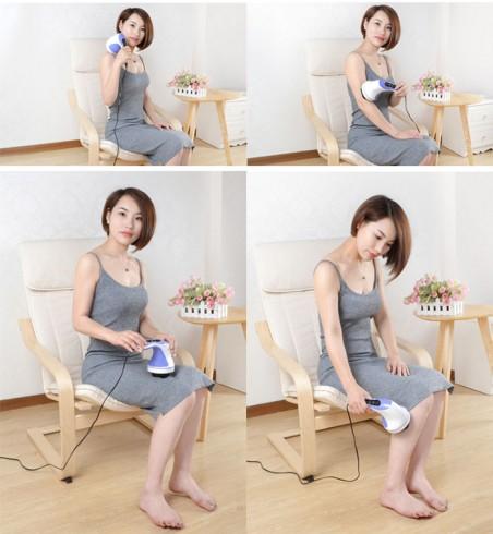Máy massage cầm tay 8 đầu Puli PL-603AC3 - Điện tử