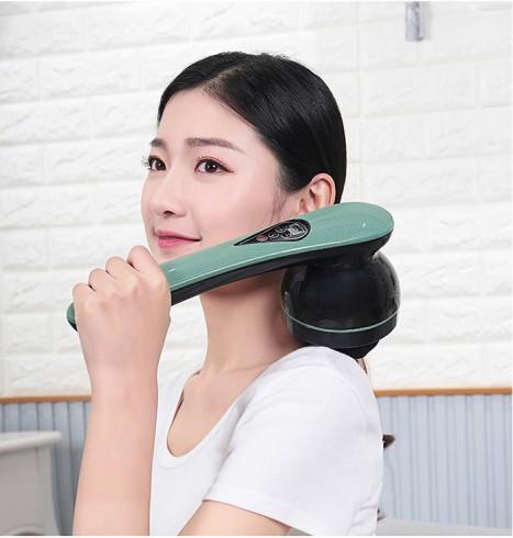 Máy massage cầm tay pin sạc cao cấp Puli PL-661DC4 - 8 đầu