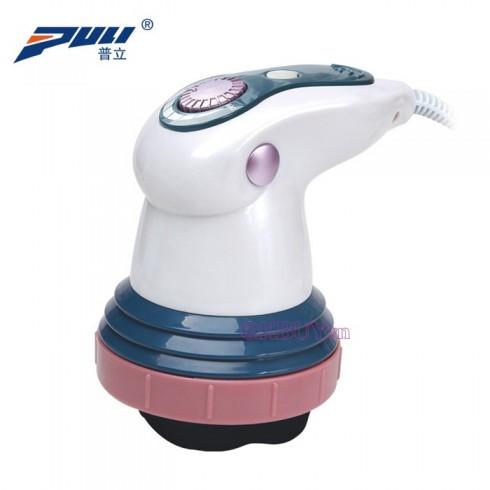 Máy massage bụng cầm tay hồng ngoại Puli PL-605 - 4 đầu