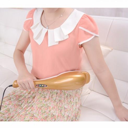 Máy massage cầm tay cá heo Puli PL-606B - 3 đầu