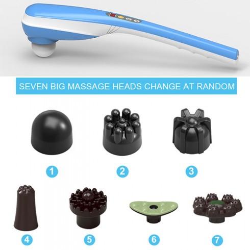 Máy massage cầm tay pin sạc Puli PL-613DC3 - 7 đầu 5 chế độ