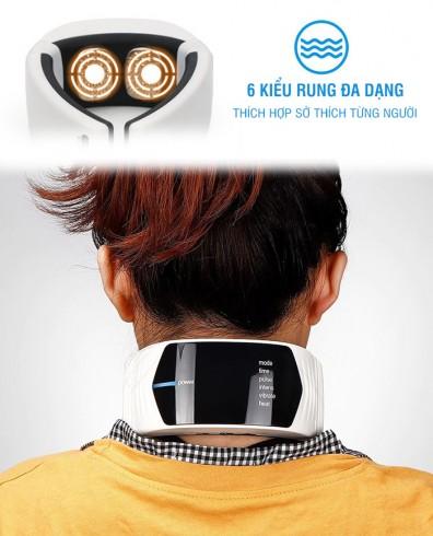 Máy massage cổ xung điện pin sạc Puli PL-758